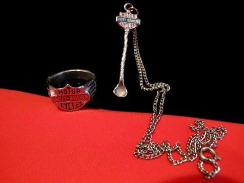 Vintage Harley Davidson Snuff Spoon | Snuff Spoons | Modern