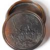 AW Wilson Pressed Horn Snuff Box