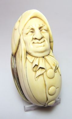 Dutch Ivory Snuff Box c1710