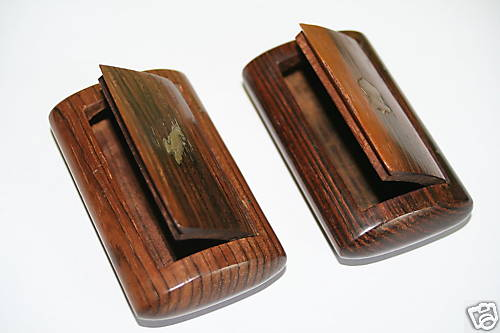 Wooden Snuff Boxes