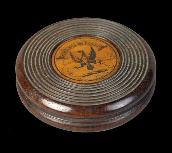 Early 19th Century Puzzle Snuff Box