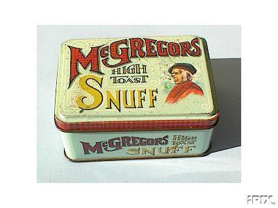 McGregor's High Toast Snuff