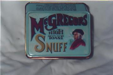 McGregors High Toast Snuff Tin